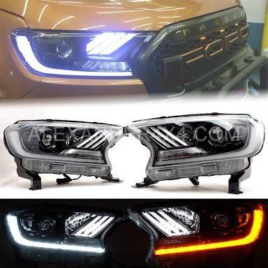Ford Ranger 2016 2019 Front Head Light Upgrade Kit