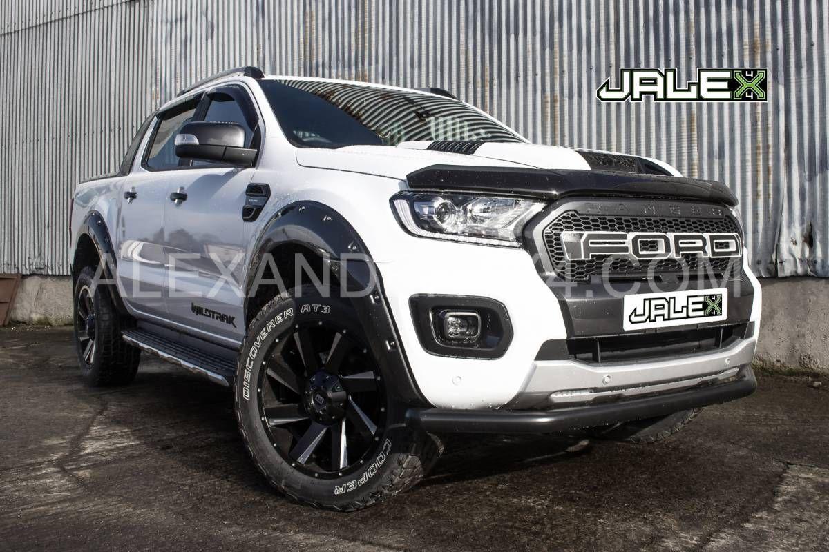 Customised White 2020 Ford Ranger by JALEX